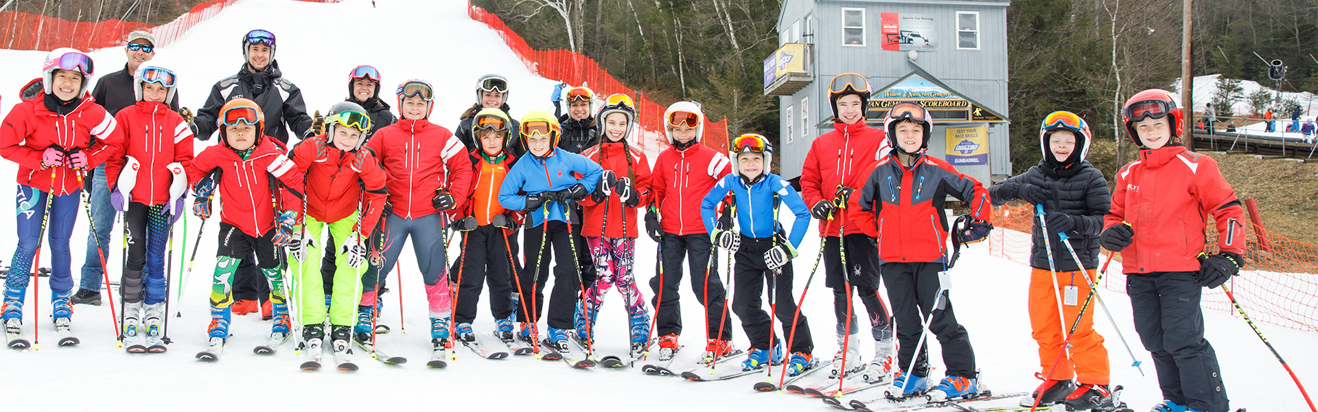 Group image of Ski Sundown race team