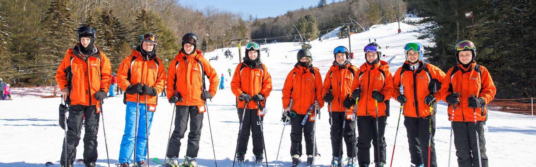 Image of participants in junior instructor program