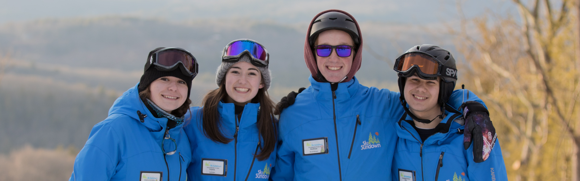 Image of 4 ski instructors